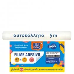 ΑΥΤΟΚΟΛΛΗΤΟ ΔΙΑΦΑΝΕΣ CPP 5m ΠΛΑΤΟΣ=45cm,ΠΑΧΟΣ=0,07mm Justnote 70263