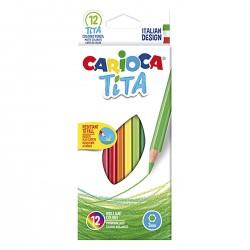ΞΥΛΟΜΠΟΓΙΑ ΟΙΚΟΛΟΓΙΚΗ CARIOCA ΤΙΤΑ  ΣΕΤ=12 ΧΡΩΜ.  Carioca