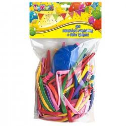 ΜΠΑΛΛΟΝΙΑ MODELLING 50 TEM & MINI ΤΡΟΜΠΑ  ToyMarkt 913059