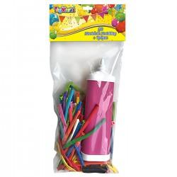 ΜΠΑΛΛΟΝΙΑ MODELLING 50 TEM & ΤΡΟΜΠΑ ΠΛΑΚΕ  ToyMarkt 913060