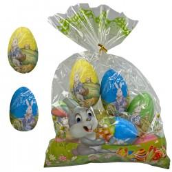 ΑΥΓΑ ΧΑΡΤΙΝΑ 9ΤΕΜ ΛΑΓΟΣ 6cm Bunny's 9397
