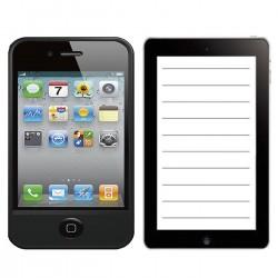 ΜΠΛΟΚ SMARTPHONE 10.5x7.5cm Justnote 104208