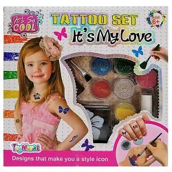ΣΕΤ TATTOO IT'S MY LOVE 23x23x5cm ToyMarkt 971040