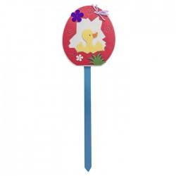 ΑΥΓΟ ΤΣΟΧΙΝΟ ΓΙΓΑΣ ΜΕ ΣΤΙΚ Υ:68cm ΦΙΓΟΥΡΑ:21cm Bunny's 931310