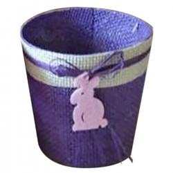 ΚΑΛΑΘΙ ΠΛΕΚΤΟ ΛΑΓΟΣ Φ10xΥ:9,5cm Bunny's 931373