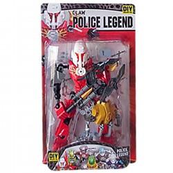 HERO POLICE LEGEND 16x29x6cm ToyMarkt 913106