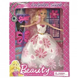 ΚΟΥΚΛΑ BEAUTY FASHION SHOW 25x31x6cm ToyMarkt 922058